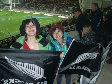 All Blacks Game, New Zealand