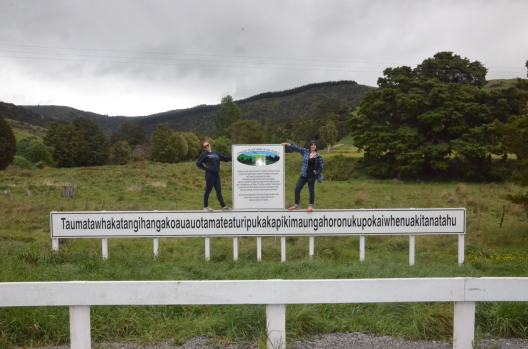 World's Longest Place Name, New Zealand