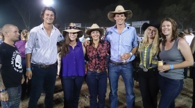 Team Yougawalla at the Kununurra Rodeo