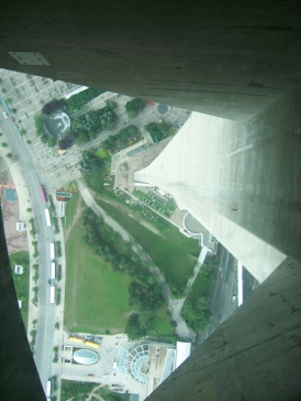 The CN Tower glass floor (2008)